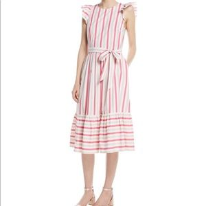 KATE SPADE pink striped dress
